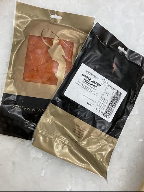 Smoked salmon trimmings 500g