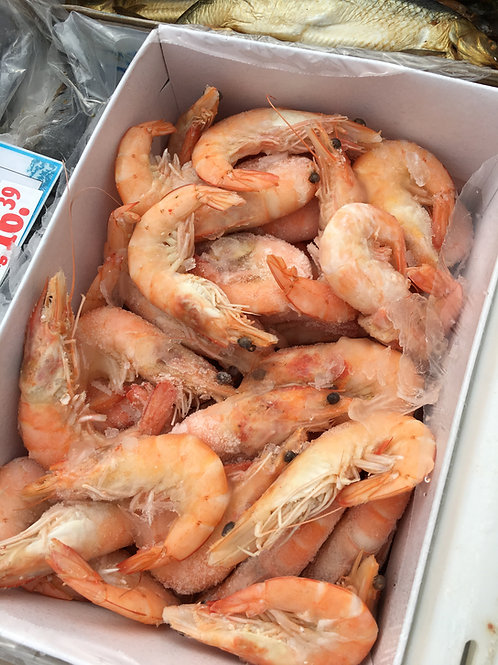 Cooked Crevettes 250g
