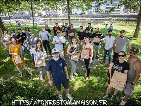 """""""tonrestoalamaison.fr """": notre nouveau projet solidaire... Pour vous!"""
