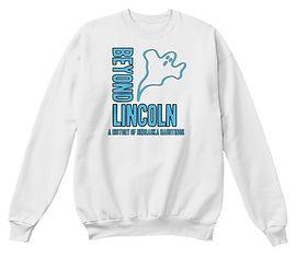 Beyond Lincoln Sweatshirt Ghost White.jp