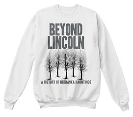 Beyond Lincoln Sweatshirt Woods White.jp