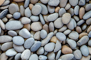 Abstract background texture, Colorful sea stones, top view.jpg
