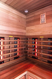 the interior of a small wooden infrarered sauna booth in a spa_edited.jpg