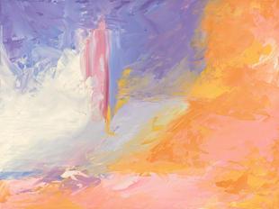 The Enlightener (after Helen Frankenthaler)