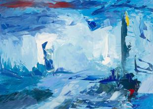 Master of Color Field (after Helen Frankenthaler)