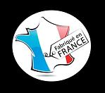 Logo made in france fabriquée en France.