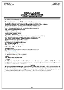 EXPERT ATOM DUMAN KESİCİ_SDS_EN pdf(6).p