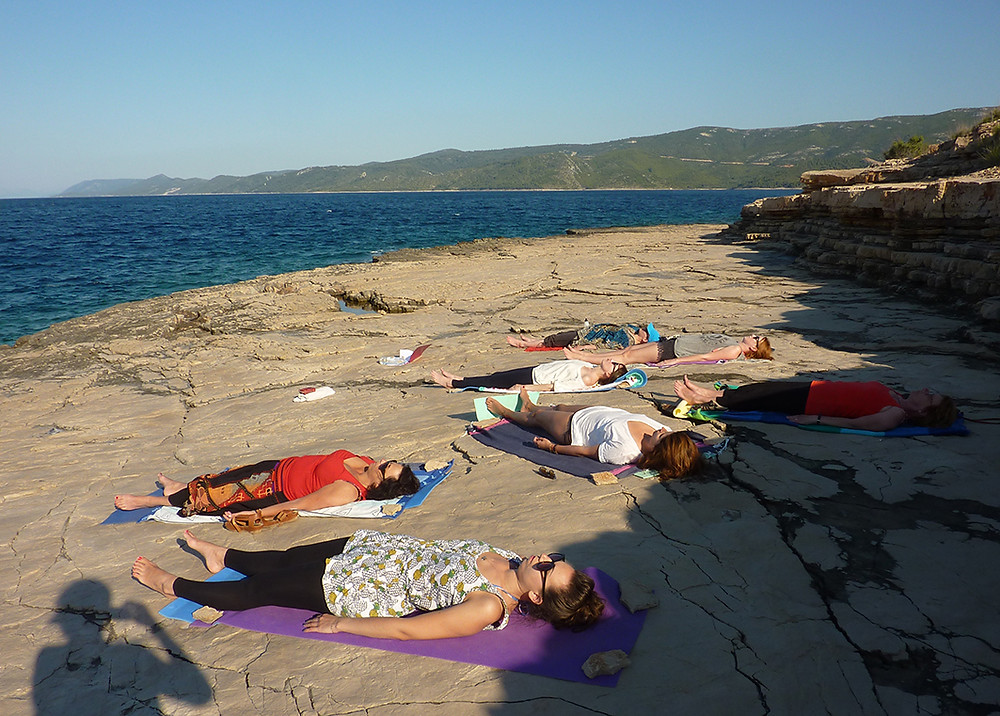Yoga for Hear & Soul at Suncokret Body & Soul Retreat, Hvar Island, Croatia