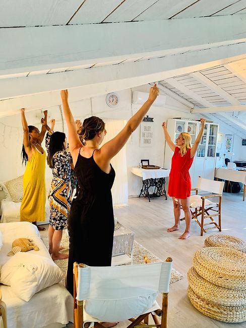 Face Yoga at Suncokret Retreat with Spela Koderman