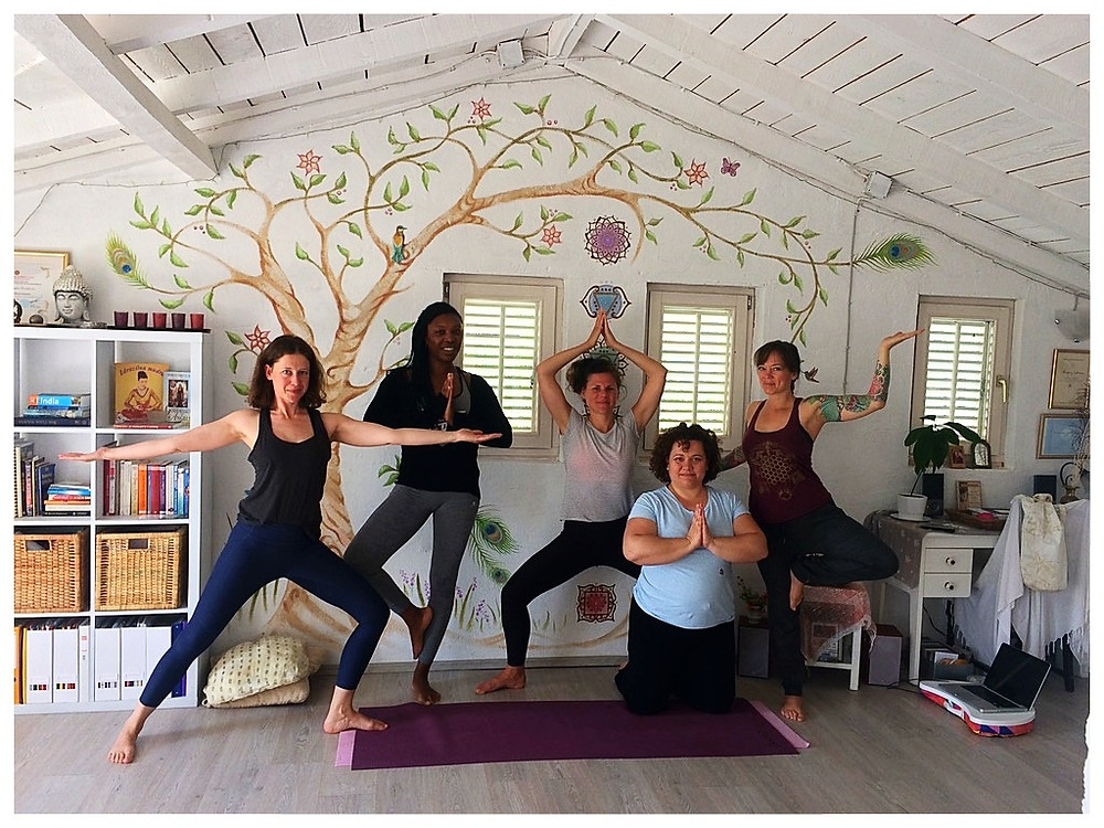 """YOGA UNITES US"" the group that inspired the blog series"