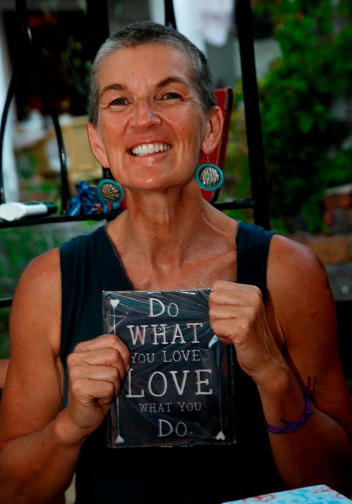 Russelle Beardon in a state of Dharma at Suncokret Body & Soul Retreat, Hvar Island, Croatia, 2015