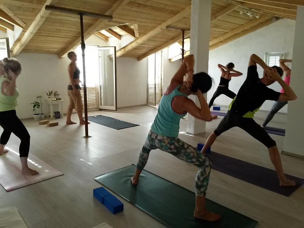 Yoga Banquet with Russelle Beardon at Suncokret Body & Soul Retreat, 2015