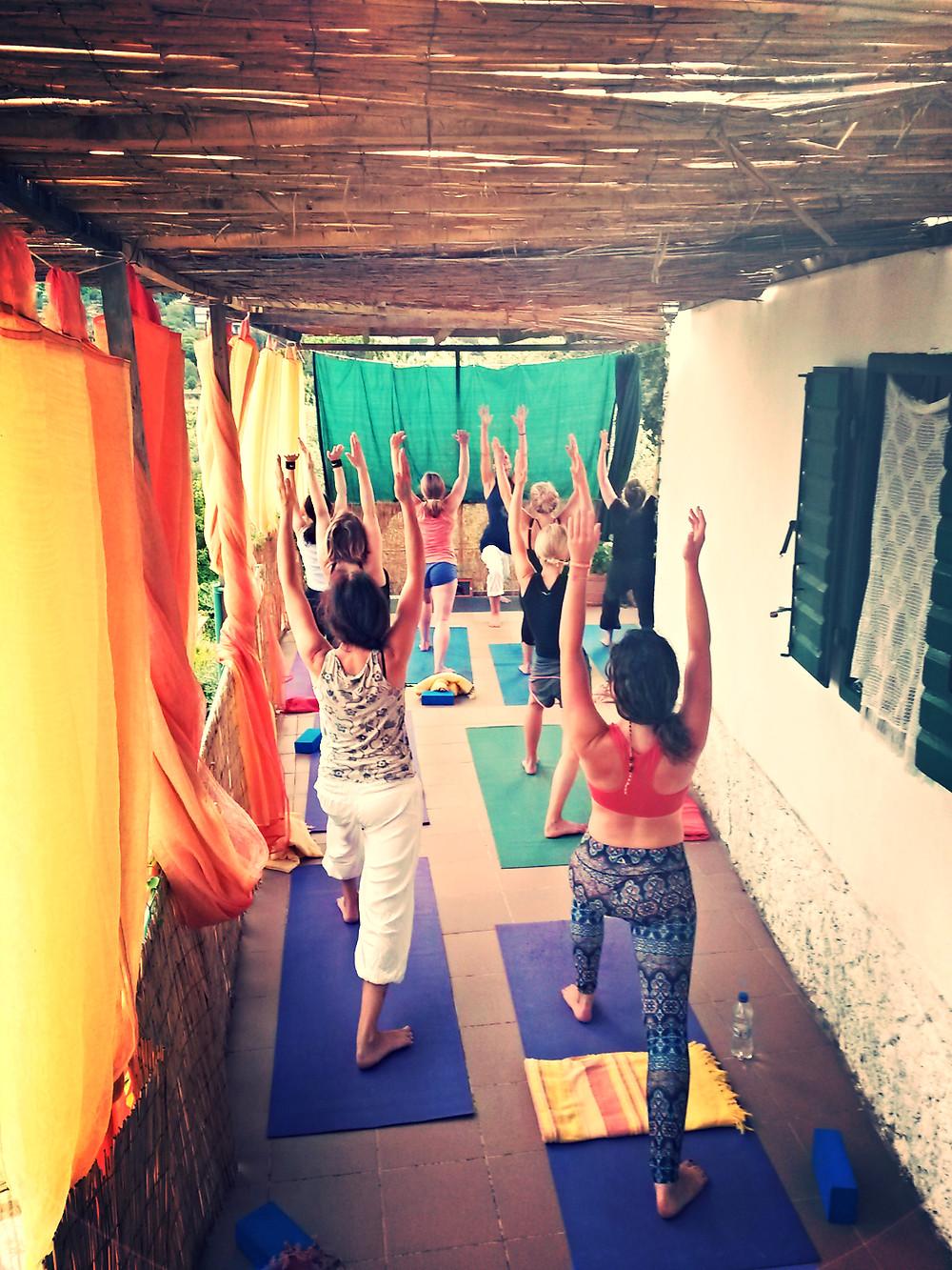 Transformative Yoga with Russelle Beardon at Suncokret Body & Soul Retreat, Hvar Island, Croatia