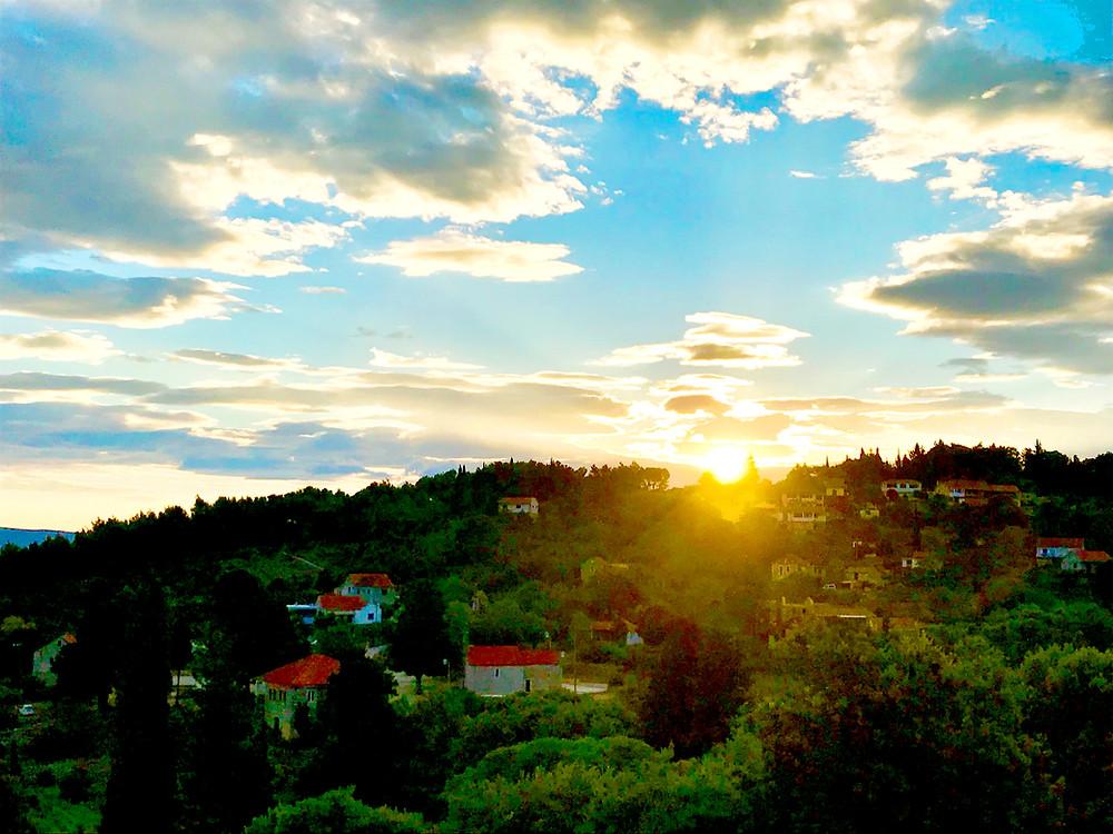 Sunrise over Dol Sveta Ana
