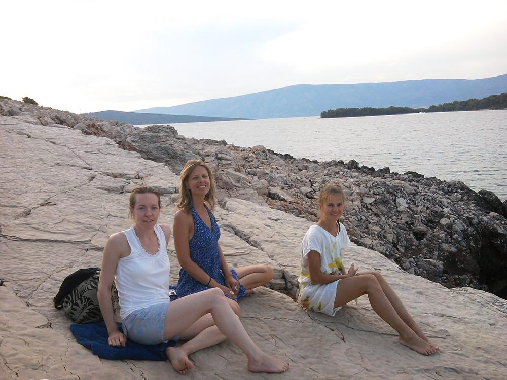 Chloe Bovay - post meditation at Suncokret