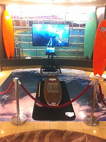 VIRTUAL REALITY SURFING SYSTEMS