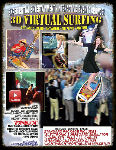 VIRTUAL REALITY SURFING