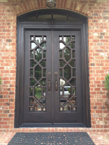 Honeycomb Straight top with transom (2)