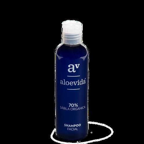 Shampoo facial 70% aloe vera orgánico