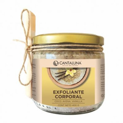 Exfoliante corporal vainilla-coco-avena 400 gr