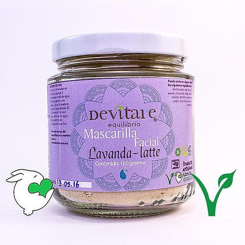 Mascarilla Lavanda-Latte