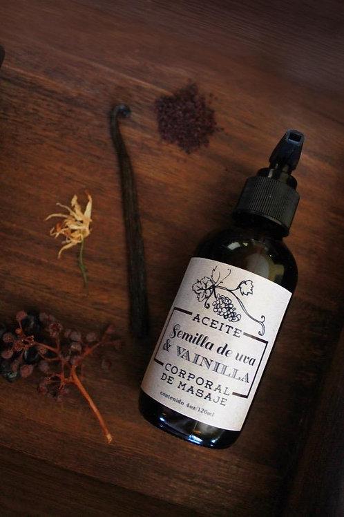 Aceite corporal semilla de uva