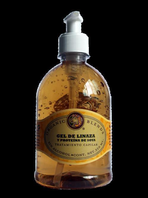 Gel organico de linaza y soya dispensador 510 ml