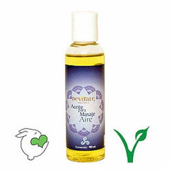 Aceite para masaje aire