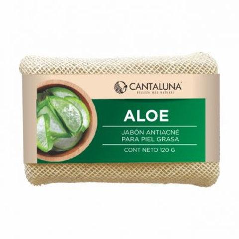 Jabón antiacné aloe