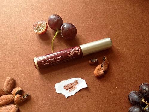 Brillo Labial Uva de Vino + Cacao