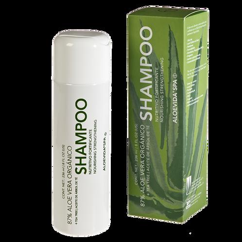 Shampoo nutritivo fortificante 80% aloe vera