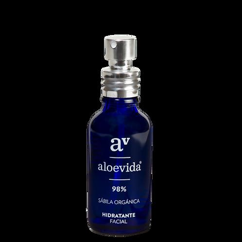Hidratante facial 98% aloevera