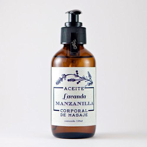 Aceite corporal lavanda manzanilla