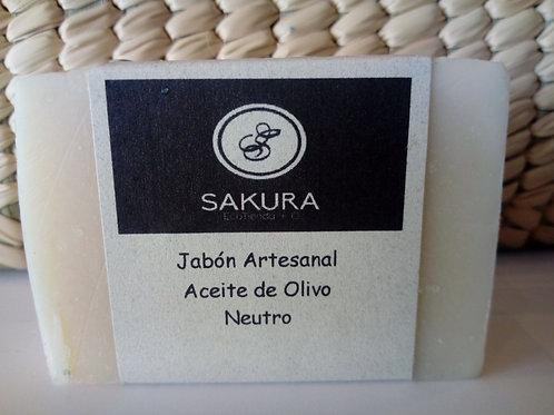 Jabon sakura aceite de olivo