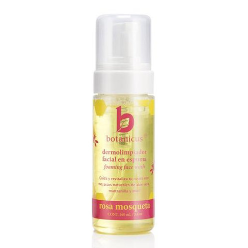Dermolimpiador facial miel y rosa mosqueta