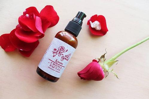 Crema facial rosas