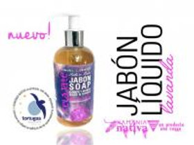 Jabón líquido para manos lavanda