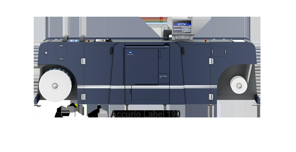 Accurio label 190