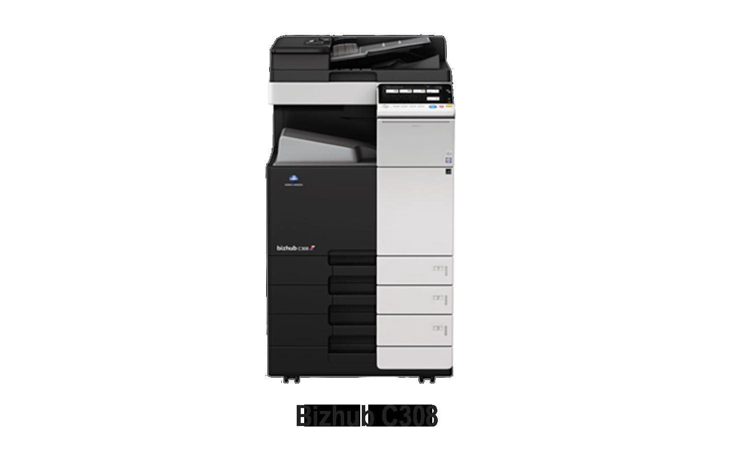 bizhub C308