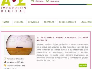 Muchas gracias ABZ Impresión Digital por la reseña a mi trabajo!