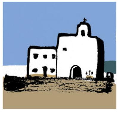 Lámina Esglesia de Sant Francesc Xavier