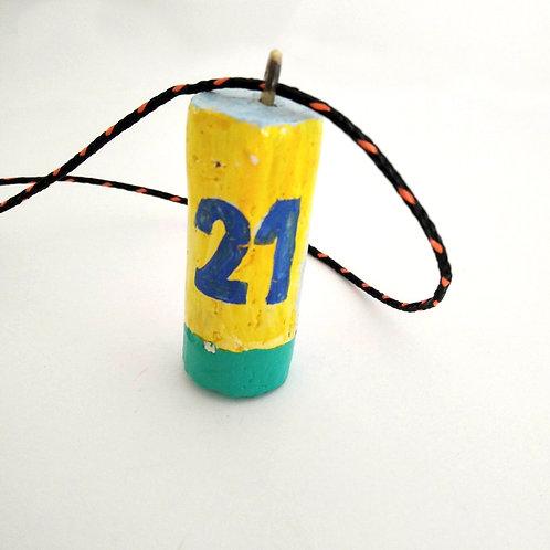 boya 21 amarillo