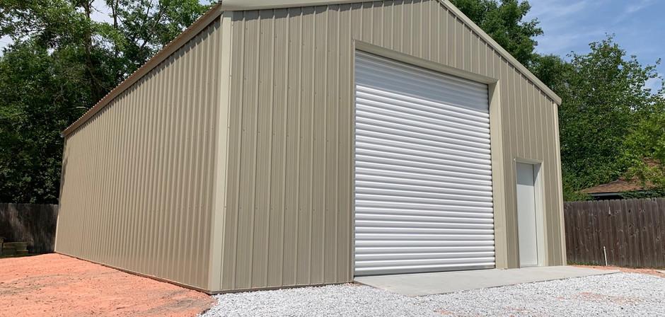 30x40x12 enclosed pole barn