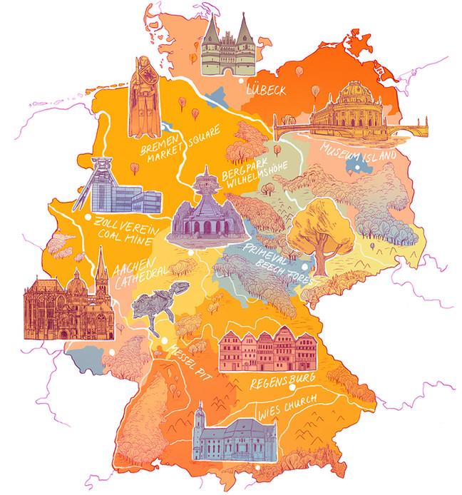 UNESCO MAP