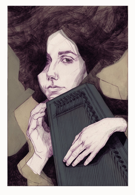 PJ Harvey Portrait