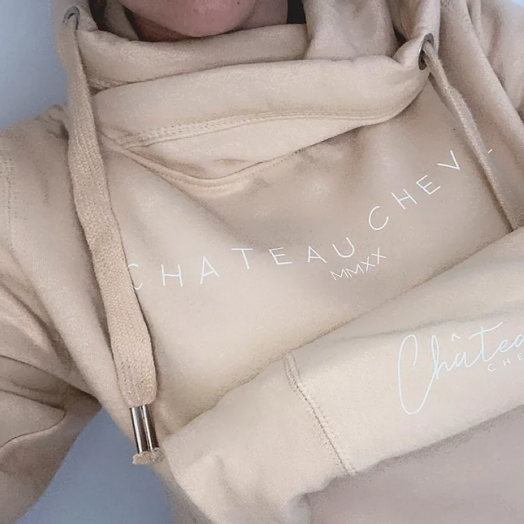 equestrian christmas gift guide - chateau cheval hoodie