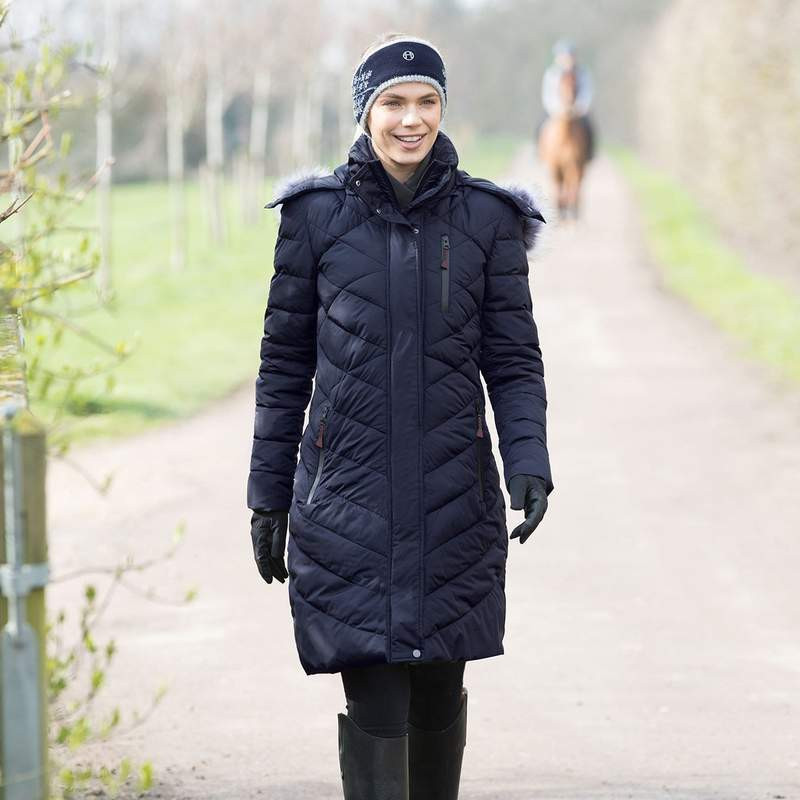 equestrian Christmas gift guide - heated riding coat