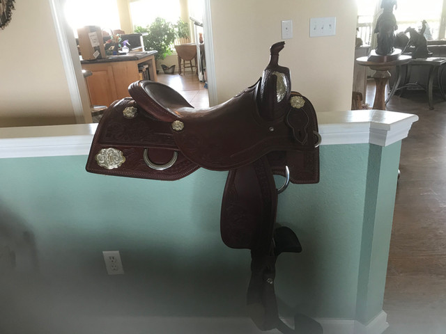 Bowman Custom Saddle