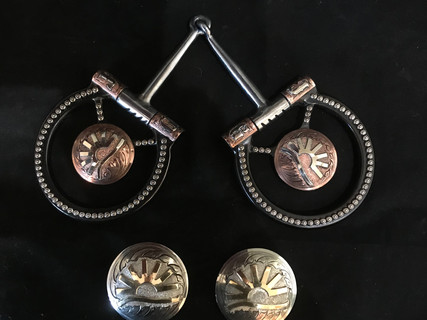 Bowman Snaffle and Conchos