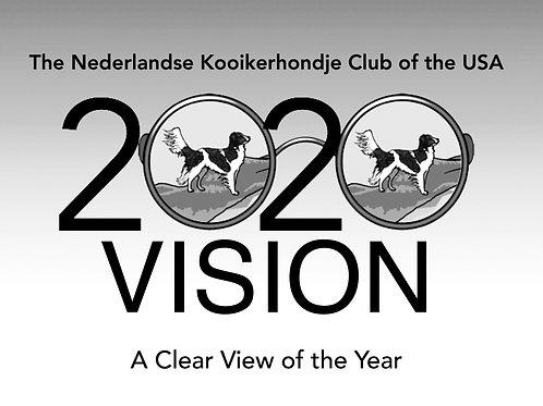 2020 VISION KALENDAR